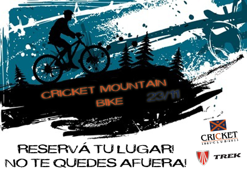 Segunda Salida del Cricket Mountain Bike